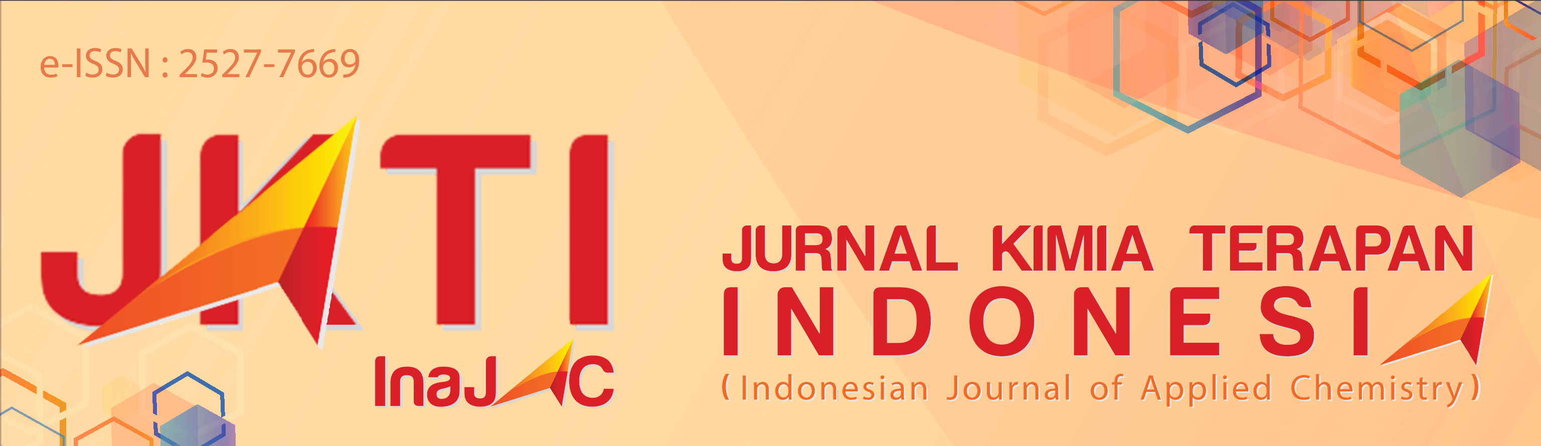Jurnal Kimia Terapan Indonesia (Indonesian Journal of Applied Chemistry)